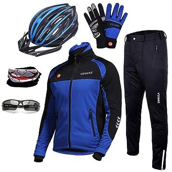 YDQXTZ Impermeable Abrigo De Viento Pro Equipo Ciclismo Set ...