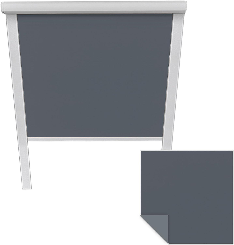 Tenda a Rullo Oscurante per lucernari Velux CK04 6001 Blu Scuro Tenda a Rullo Adatta per finestre per tetti Velux Victoria M