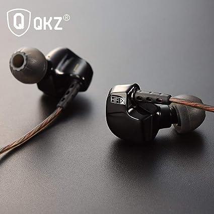 QKZ DM200 DE 3,5 Mm En Los Audífonos Auriculares De Alta Fidelidad De Metal