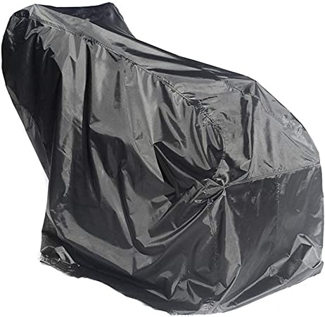 Snow Thrower Cover Snow Thrower Blower Protective Cover Heavy Duty Polyester,Waterproof,UV Protection,Universal Size for Two Stage Snow Blowers with Carry Bag