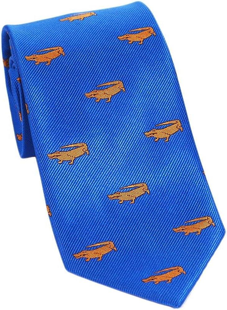 Printed Silk Standard Length Woven Silk SummerTies Silk Necktie Extra Long Kids Length