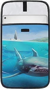 Fashion Tablet Protective Bag iPad Pro Case Sleeve Hungry Shark World X iOS Android Shark Tablet Laptop Sleeve for 12.9 Inch iPad Pro