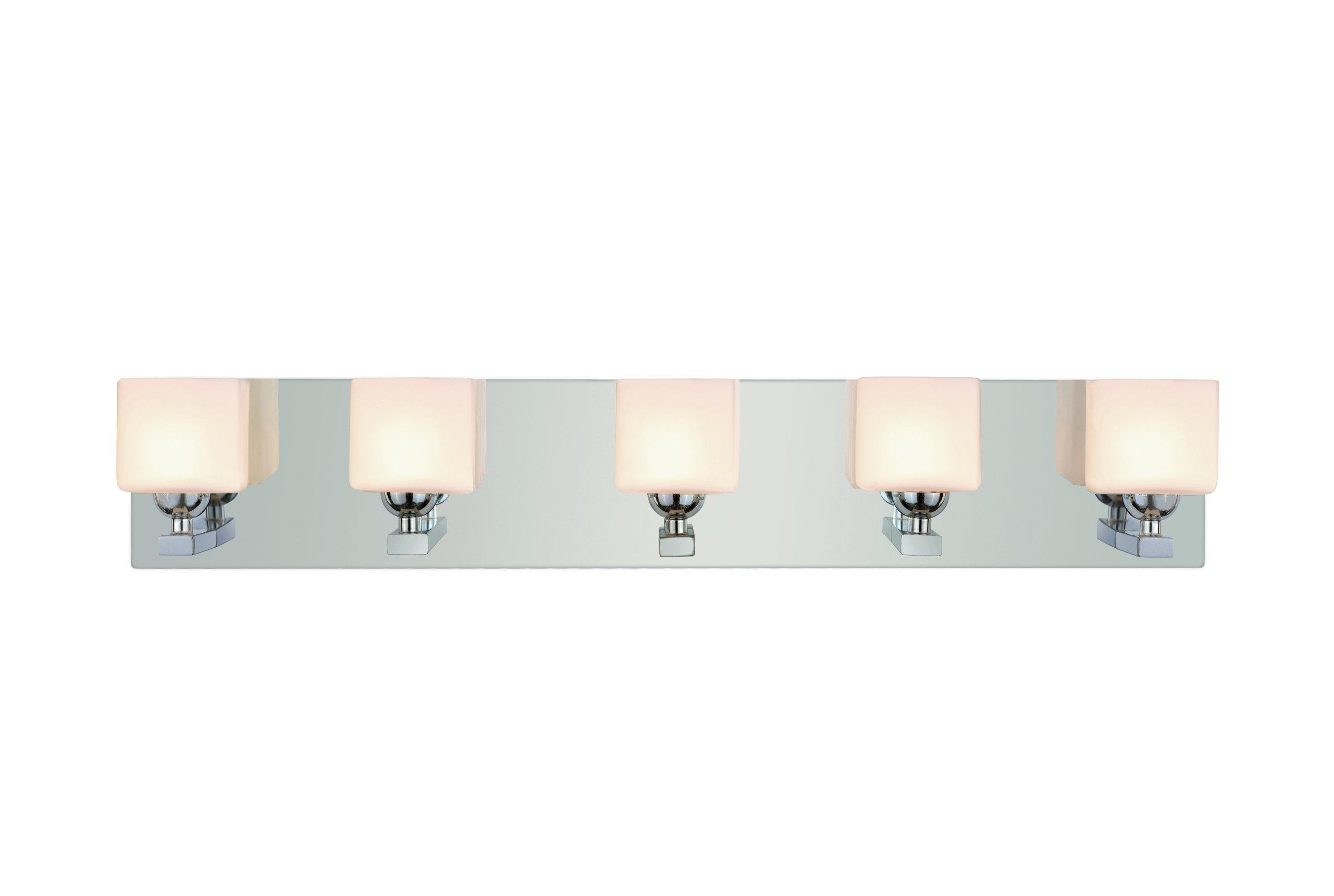 Trans Globe Lighting 2695 PC Indoor Vienna 24.375'' Vanity Bar, Polished Chrome