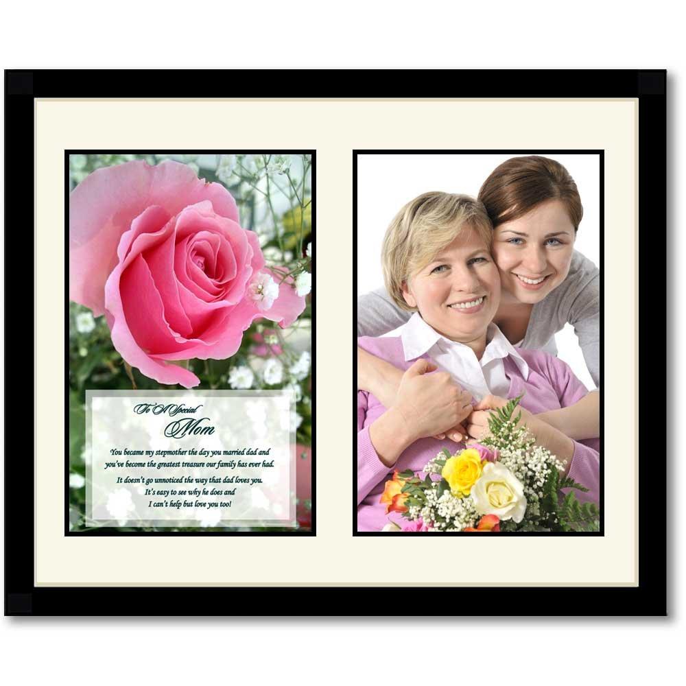 Birthday or Christmas Gift for Stepmother, Heartfelt Poem for Stepmom, Add  Photo