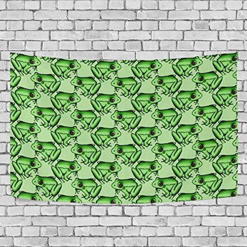 YGUII Froggie Pattern Tapestry Tapestries Decor Wall Art for Home Bedroom Living Room Dorm 150150cm(60