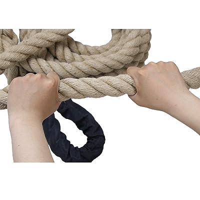 Used 10/' Sisal Gym Fitness Training Climbing Ropes