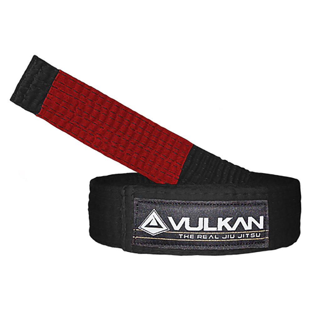 Vulkan Fight Company Brazilian Jiu Jitsu, Bjj Belt For Martial Arts Sports, Black, A2 by Vulkan