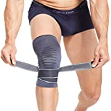 BERTER Knee Brace for Men Women Compression Sleeve Non-Slip Knee Support Stability Comfort for Running, Weightlifting, Baseba