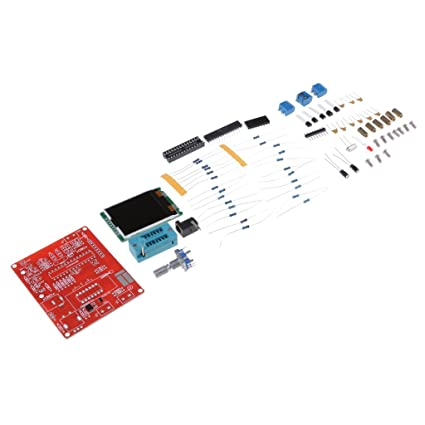 D DOLITY 1 Set Transistor Tester Kit DIY Diodo Medidor de capacitancia NPN PNP SCR FET
