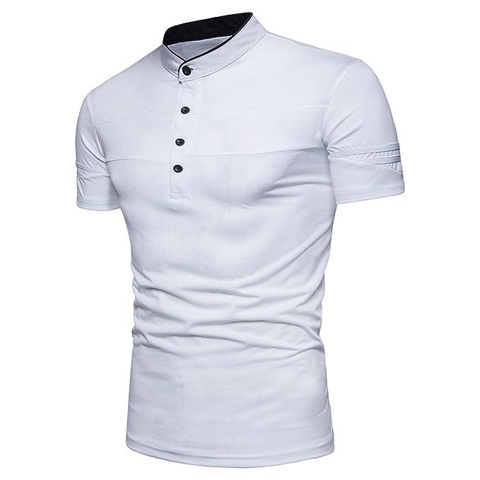 STTLZMC Polo para Hombre Manga Corta Collar Camisa Golf de Tenis Camiseta  M-XXL 38208b8a0dcd9