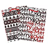 TWO Christmas Present GIft Bags - Strong Durable Gift Wrapping Bags (XMAS STOCK)