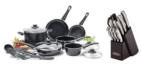 Amazon.com: GreenLife Juego de cocina de cerámica ...