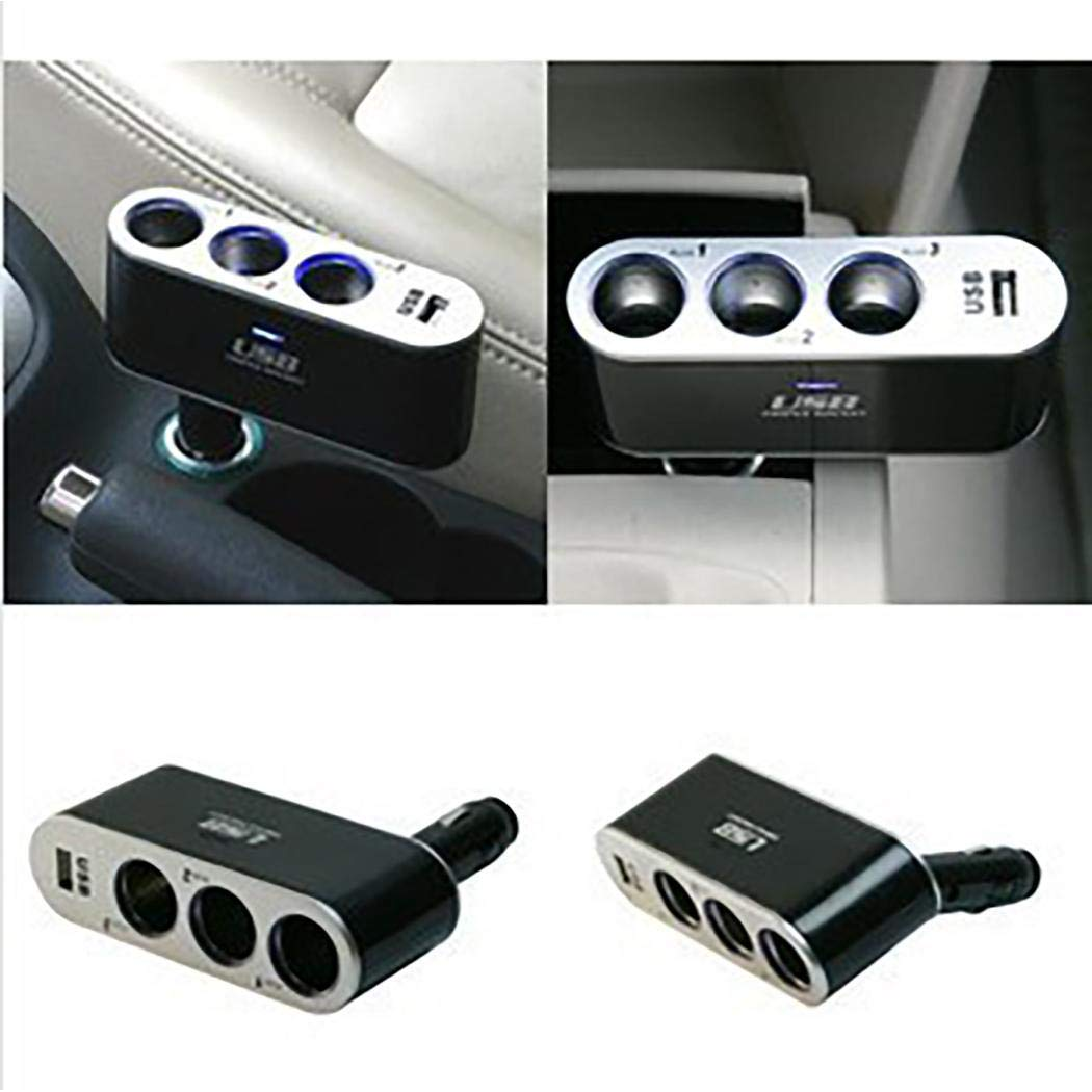 UpBeauty Car USB 90 Degree Vertical Plug Vehicle Charger Extension Splitter Unlocked Cell Phones