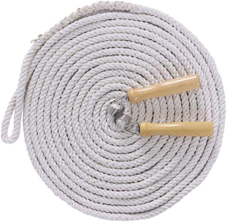 HAOT Cuerda de Saltar, Cuerda de Saltar de Alambre de algodón, Cuerda de Saltar de Deporte de Actividad grupal para Estudiantes de Escuela en casa (3m): Amazon.es: Hogar