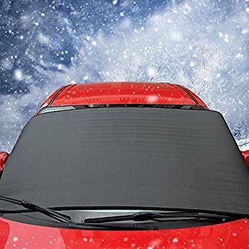 car windshield snow cover carsun for winter protection frost cover windscreen ice. Black Bedroom Furniture Sets. Home Design Ideas