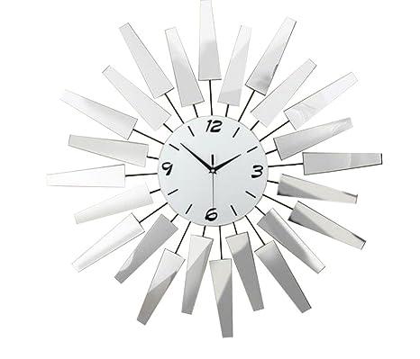 GY Reloj de pared: relojes de arte creativos minimalistas europeos, sala de estar,