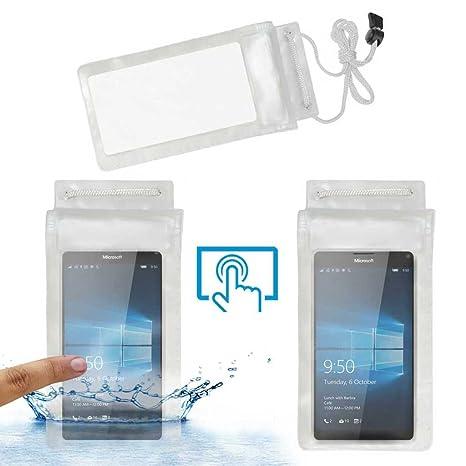 size 40 ea6cc e0e49 Acm Waterproof Bag Case for Microsoft Lumia 950 XL: Amazon.in ...