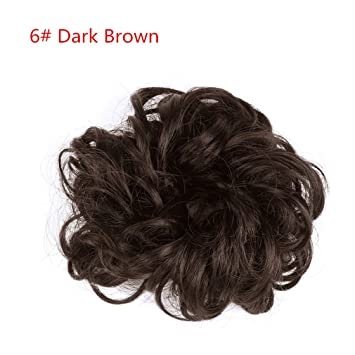 Amazon.com   Synthetic Chignons Hair Scrunchies Extensions Hair Piece Wrap  Ponytail Tail Updo Fake Hair Bun Hairpieces   Beauty 6d92669ba