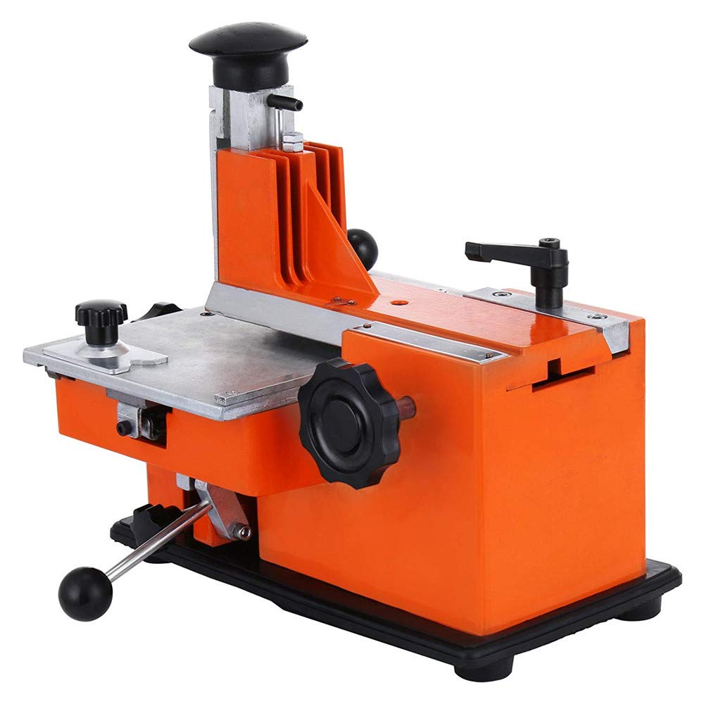 targhetta macchina premendo macchina per incisione etichettatrice 4 caratteri piastra HUKOER YL-360 manuale metallo etichetta segno stampante marcatura macchina