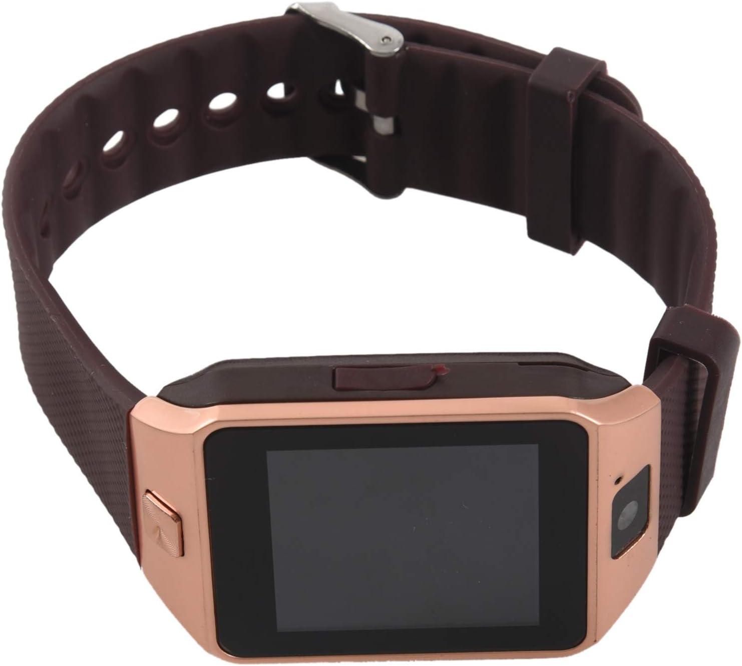reloj de telefono elegante - TOOGOO(R) DZ09 Reloj de telefono inteligente de Bluetooth para telefono inteligente de Samsung iphone HTC Android con camara de telefono SIM oro