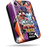 Match Attax Extra 2018/19 Mega Tin 'Stars of the Season' - 50 Cards Included