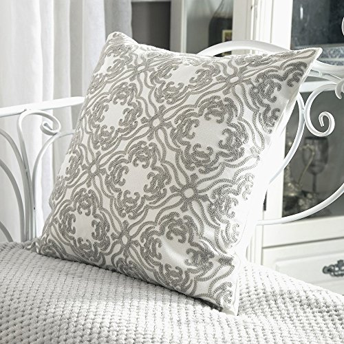Embroidered Pillowcases Amazon Com