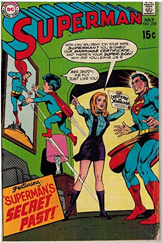 SUPERMAN 218 VG July 1969