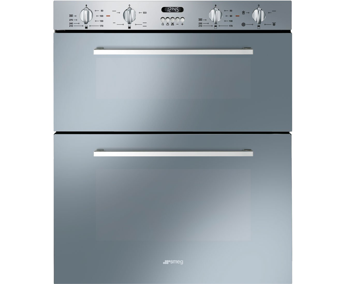 Smeg DUSF44X Cucina 60cm Stainless Steel Double Under Counter ...