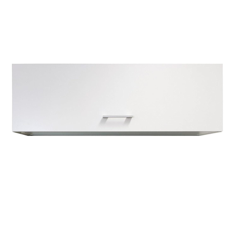 Flex-Well Küchen-Klapphängeschrank LUCCA   Oberschrank vielseitig einsetzbar   1-türig   Breite 100 cm   Weiß