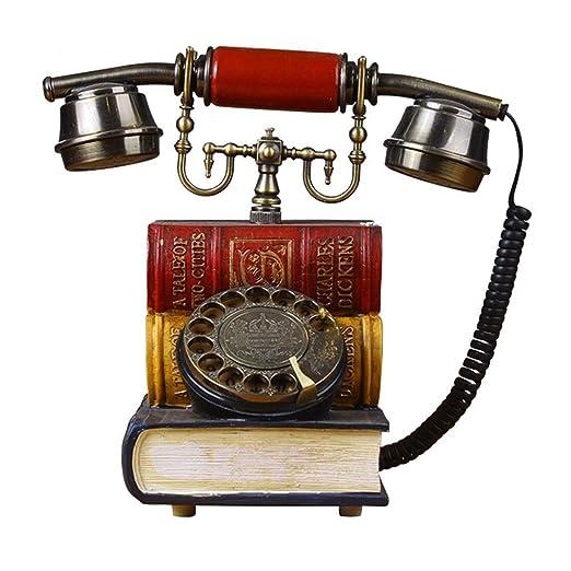 JGBHPNYX TeléFono Antiguo Europeo Creativo Sala De Estar ...