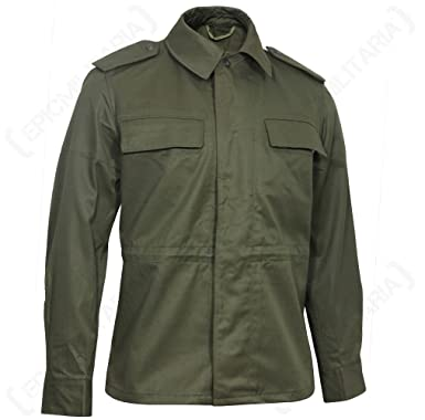 897b3d06f9469 New Mens Military Field Army Combat Jacket BDU Coat Vintage Surplus:  Amazon.co.uk: Clothing