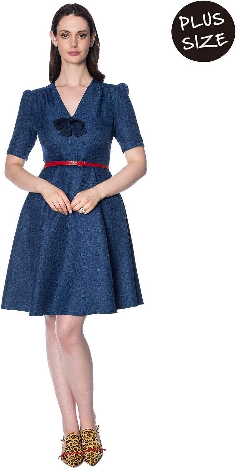 Banned Plus Size Secretary Dress - UK-18 at Amazon Women\'s ...