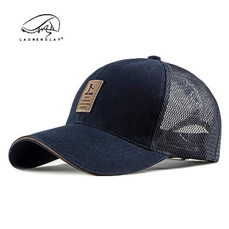 sdssup Sombrero de Malla Gorra de béisbol Masculino Sol Sombrero ...