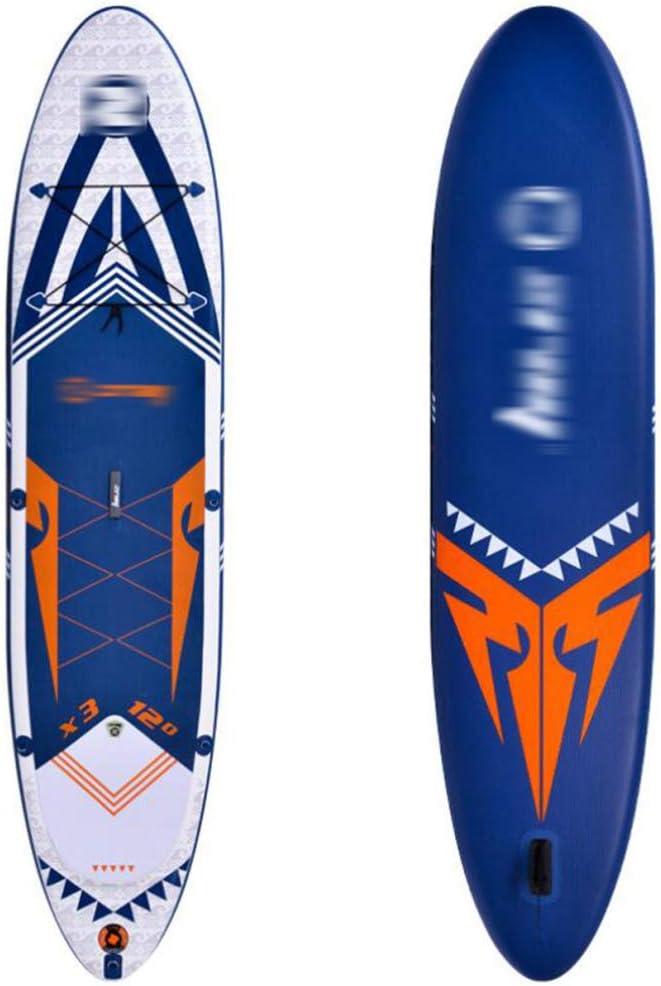 BYCDD Tabla de Paddle Surf Hinchable, Tabla de Surf Sup Junta de Deslizamiento Cubierta 6 Pulgadas Boards ISUP Gruesas para los jóvenes y Adultos Que se colocan Barco,A_297X81X15CM: Amazon.es: Hogar