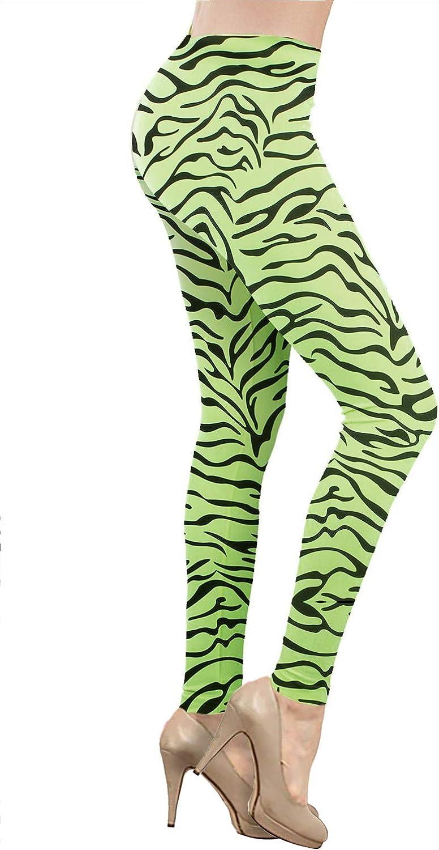 Smile Fish Legging extensible pour femme pour d/éguisement des ann/ées 80