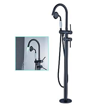 oil rubbed bronze freestanding tub filler. zovajonia oil rubbed bronze led light bathroom floor mounted tub filler shower faucet set free standing freestanding