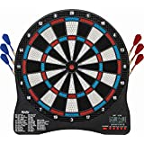 Fat Cat Rigel Electronic Dartboard, Compact Size For Easy Install, Backlit Cricket Scoreboard, Easy To Use Button Interface, Optional Double In/Out Games, Target Tested Tough Segments Last Longer, 35 Games With 229 Options