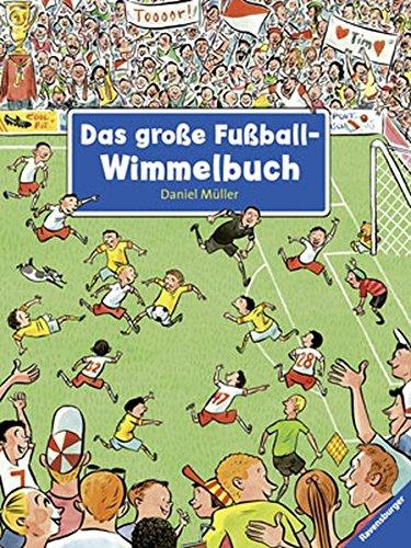 Das große Fußball-Wimmelbuch