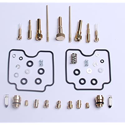 New Carburetor Repair Kit Carb Rebuild Kit For YAMAHA RAPTOR 660 YFM660R 2001-2005: Automotive