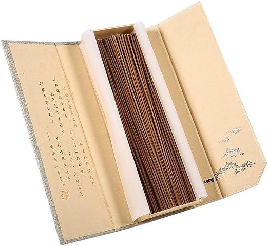 Fdit 180 Piezas Oriental Buda Aroma de Naturaleza Fragante Caja de Sándalo para Uso Multipropósito(Incienso de ajenjo): Amazon.es: Hogar