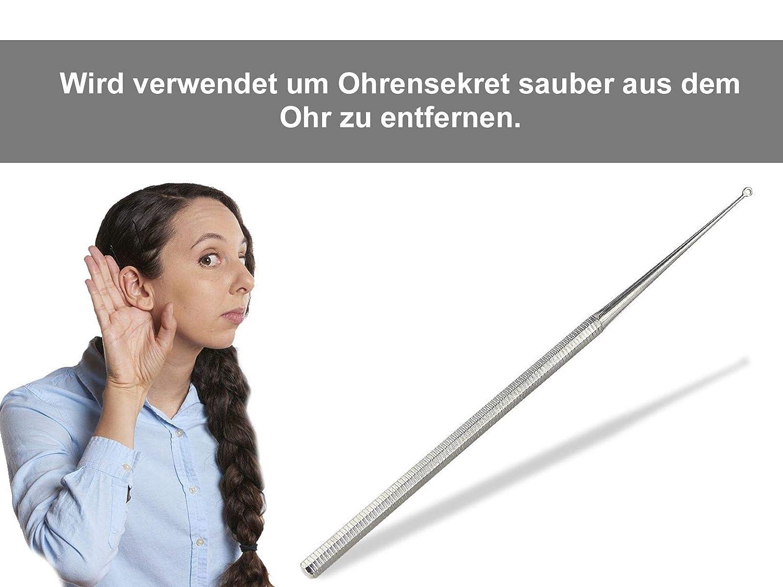 Ohrenschmalz-Reinigungsl/öffel Multifunktionsbeleuchteter leichter Ohrl/öffel Kinderohrl/öffel Babyohrl/öffel Ohrst/öpsel Zuf/ällig