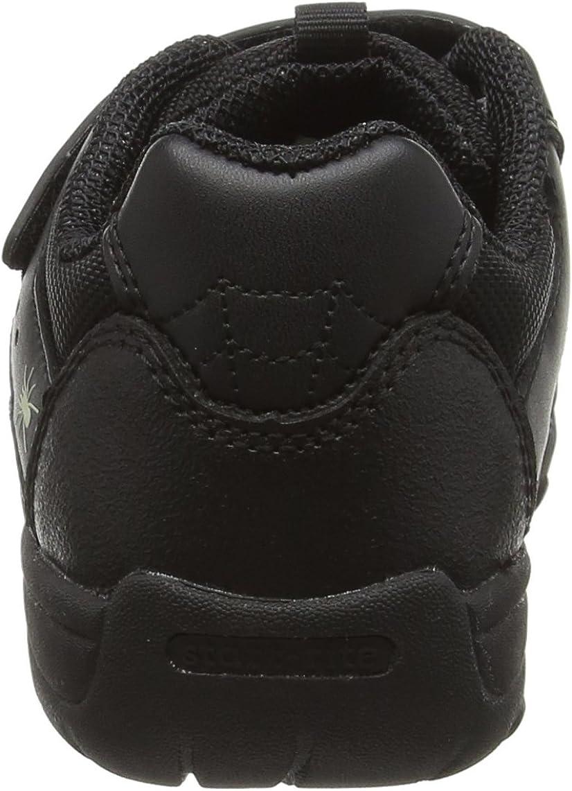 Start-rite Tarantula Boys Low-Top Sneakers Black 1.5 UK Black 33//34 EU