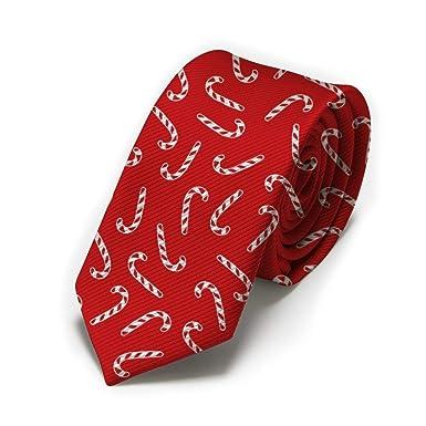 GZOSWLGS Corbata Candy Cane Classic para hombre, corbatas finas ...