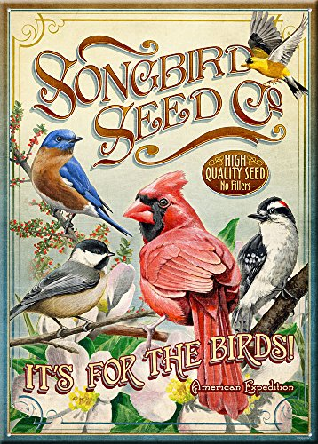 American Expedition Tin Sign - Songbird Seed ()