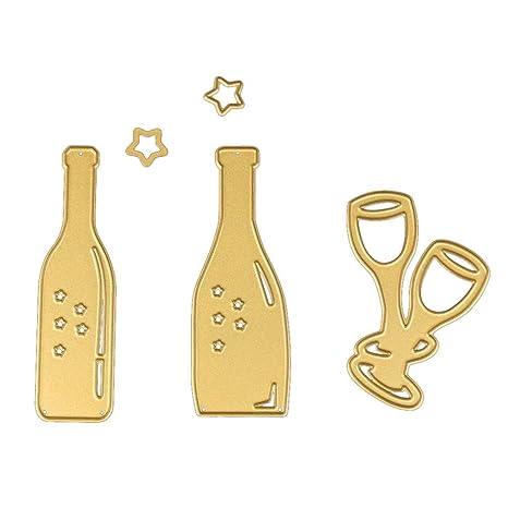 DIY Puzzle de acero al carbono cuchillo de oro repujado Mold ...