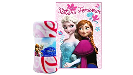 Frozen Sisters Forever Luxurious Deluxe - Manta de forro ...