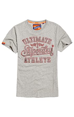 d47478f39139a Superdry Men s Heritage Classic Tee Kniited Tank Top Varsity Grey Grit Yp4