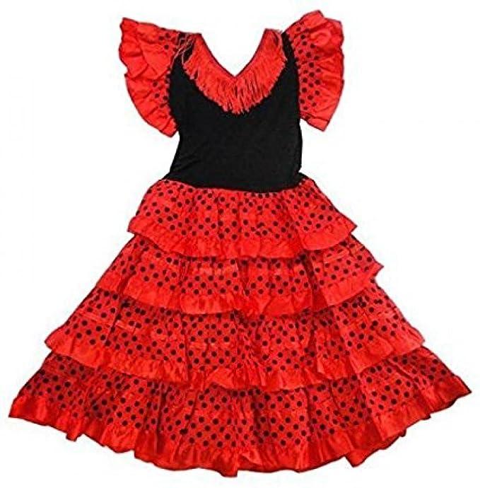 Vestido ropa disfraz de danza flamenca flamenco sevillana ...