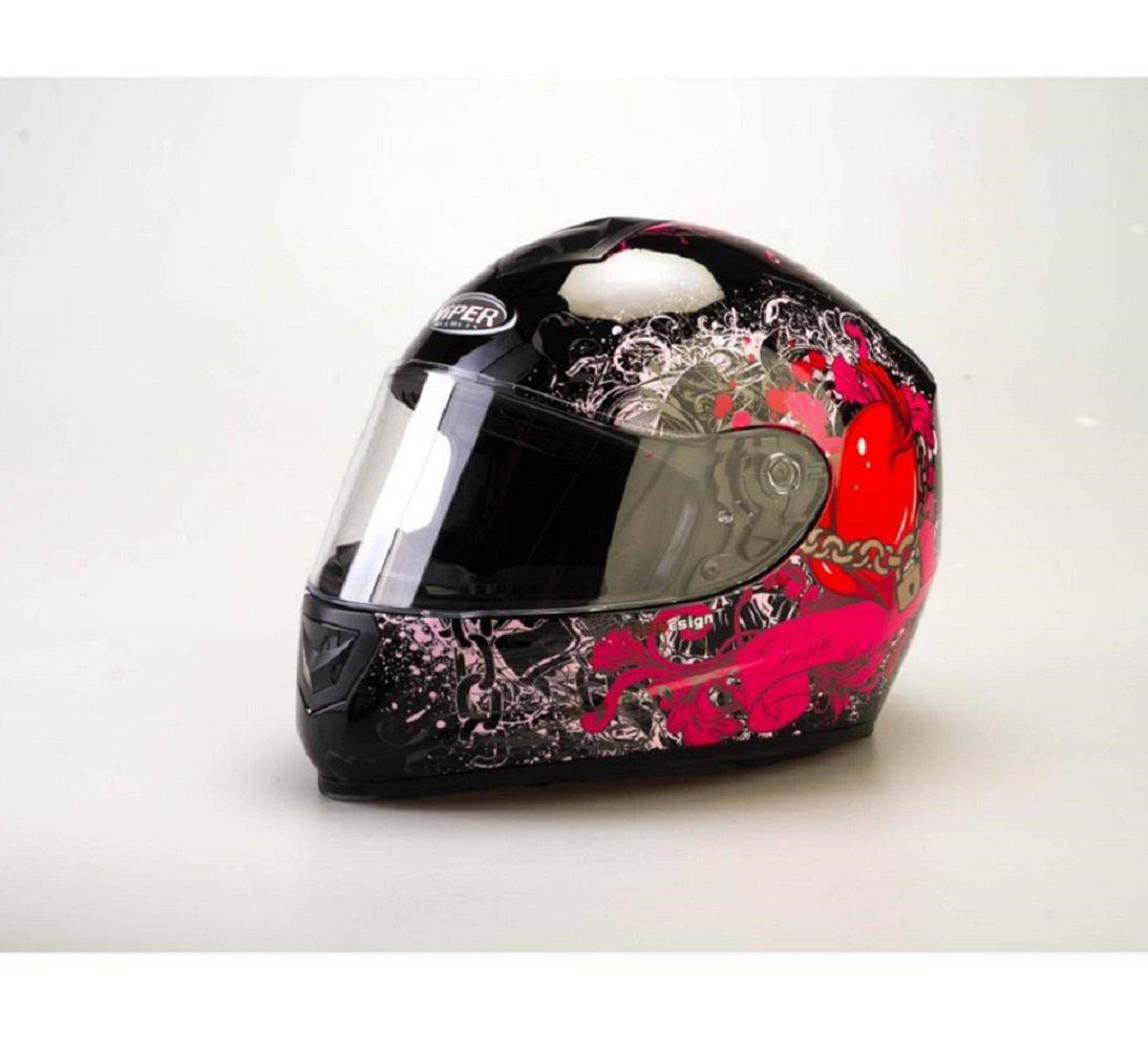 Motorrad Damen Helm VIPER RS250 Desire Motorrad Full Face Helm Touring Sports Helm für Frauen