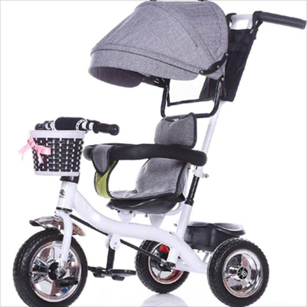 子供の屋内屋外の小さな三輪車自転車の男の子の自転車の自転車6ヶ月-6歳の赤ちゃん3つのホイールトロリー天井、固体プラスチックホイール (色 : 12) B07DVGJY4Q 12 12